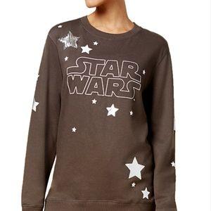 Star Wars sequin/ metallic sweater medium